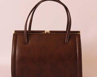 Authentic vintage 1950s Kelly handbag, 50s purse