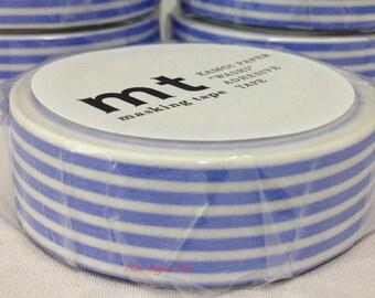 mt 1P Border Wisteria Japanese Washi Tape Masking Tape Deco Tape Paper Tape (MT01D319)