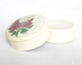 1975 USSR Vanity Face Powder LILAC Full Unopen. Vintage Soviet Russian Vanity Powder Box. Lady Face Vanity Powder.