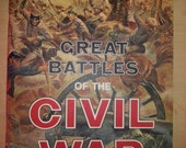 great battles of the civil war LIFE 1940s