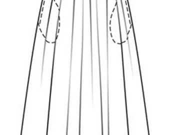 AUTUMN 2016: light and warm long skirt, handmade from natural wool
