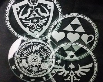Zelda Custom Coasters