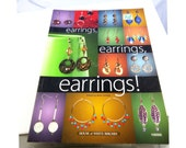 Earrings Book, Beading, Jewelry Project Design Book, Reference Manual