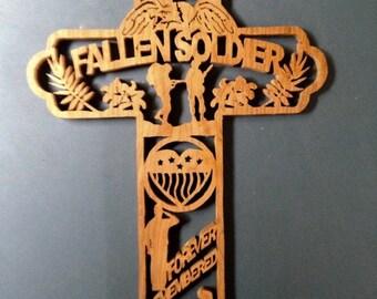 Fallen Soldier's Cross