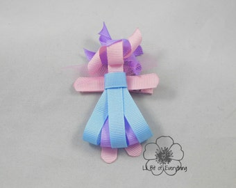 Abby Cadabby Ribbon Sculpture Clip