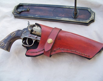 Steampunk Navy 1851 Black Powder Revolver Replica