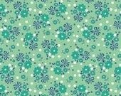 Calico Days/ Choose Mint Green or Pink/Lori Holt/Riley Blake Designs/Cotton Material/Quilting, Clothing, Craft/Fat Quarter, By The Yard