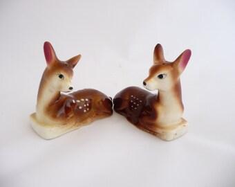 Deer Salt and Pepper Shakers