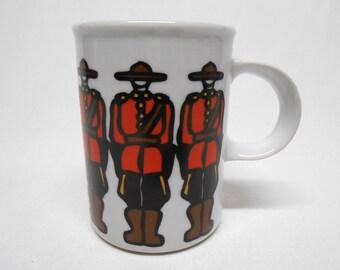 RCMP Royal Canadian Mounted Police Mug Marc Tetro Danesco