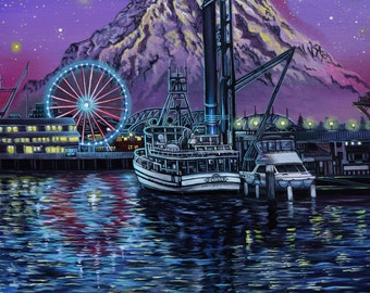 Coming Home - Limited Edition Print (Seattle, Wa)