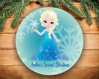 Babys Second Christmas Ornament Christmas Ornament Baby's Ornament Kids Gift for Kids 2nd Christmas Personalized Christmas Tree Ornament