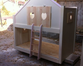 Little princess cottage bunk bed, Kids furniture