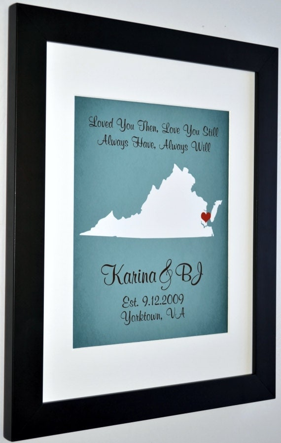 1 Year Wedding Gift For Him : New Love: 1 Year Anniversary Gift For Him One Year by Picmats
