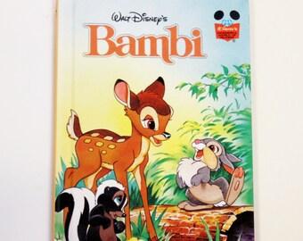 Walt Disney's Bambi Hardbound Book - Children's Book - Story Book, Disney Book