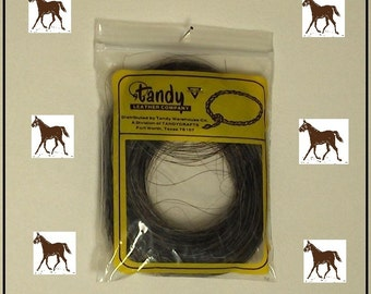 HORSE TAIL HAIR This fiber has many uses. Indian clothing and accessories, Bracelets, Beading,