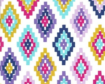 Cornered in Midnite - Arrow Flight collection by Michael Miller fabric