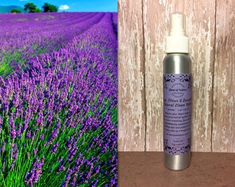 Sage, Citrus & Lavender Essential Oil Spray, 4oz - 100% Natural, Non-Toxic and Made to Order!
