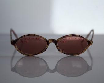 Vintage 80s Brown Frame,  Brown RX Prescription Lenses.