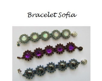 Beading Pattern Bracelet Sofia PDF (English)