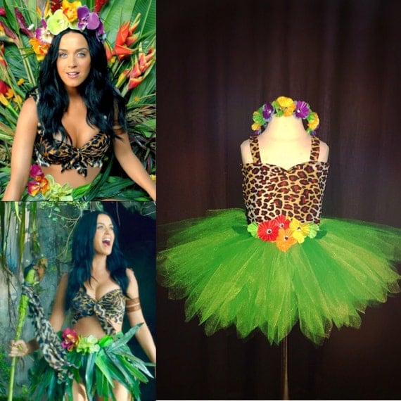 Girl's Katy Perry Roar Inspired Tutu Outfit by ...