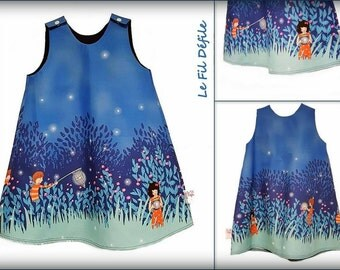 "Dress ""Summer night"""