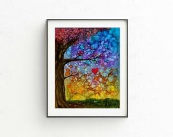"Giclee PRINT of ""Love Autumn"""
