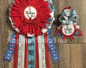 NEW Thing 1 Thing 2/Dr. Seuss Mommy and Daddy To Be Corsage Set