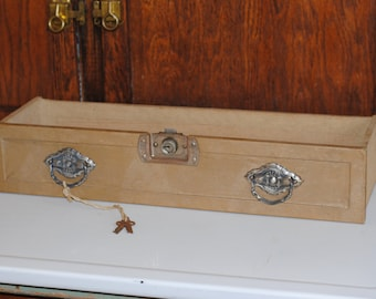 Antique Steam Trunk Drawer