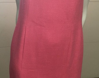 Chanel Hot Pink Sheath Dress
