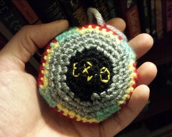 Electric Light Orchestra UFO Crochet Ornament Pattern - Make your own ELO Spaceship!