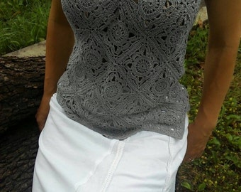 Crochet top for your summer.