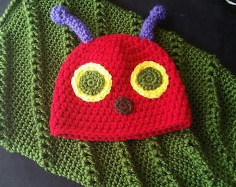 Crochet Caterpillar Costume