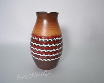 West German pottery vase by Dümler & Breiden 113 25