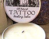 All-Natural Tattoo Healing Salve - 1oz.