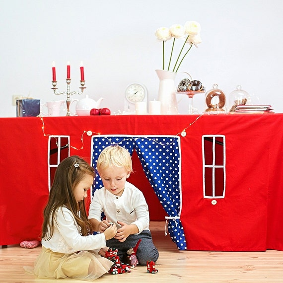 """Playhouse - tablecloth """"Christmas tale"""" READY FOR DISPATCH!"""
