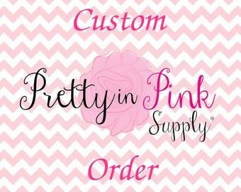 Custom Order for Martine