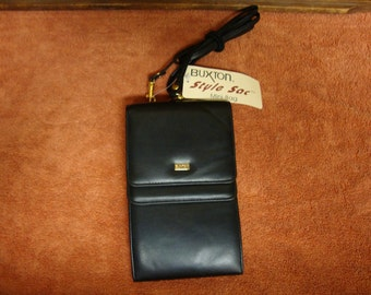 Buxton Leather Crossover Purse Mini Bag