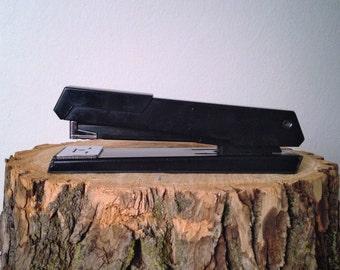 Vintage Stapler Acco 41 Black Staplerlike Swingline Stapler Industrial Office Style