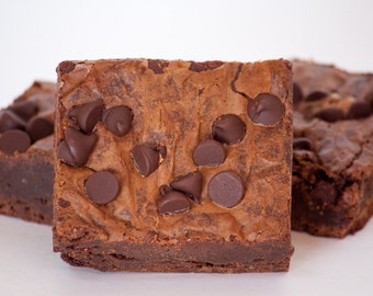 Triple Chocolate Brownies - 12 brownies