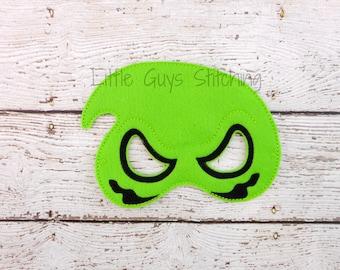 Oogie Inspired Mask - Ghost Mask - Kids Costume - Kids Mask - Dress up - Halloween Mask - Nightmare Mask - Felt Mask - Birthday Party -Favor