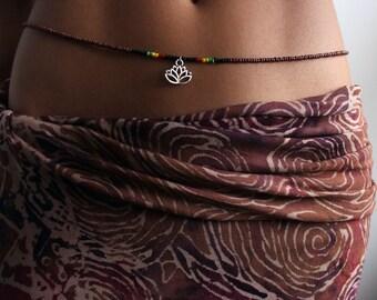Lotus Waist Beads