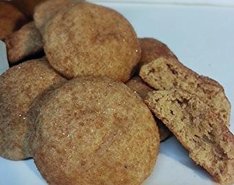Snickerdoodle Cookies, Fresh Baked, Vacuum sealed