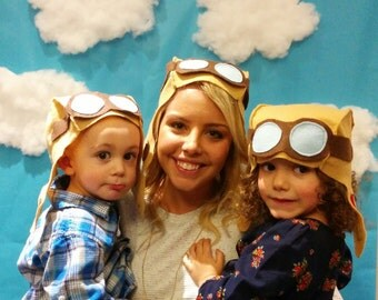 Aviator Hat - Adult & Kids Size