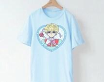 Magical Boy! 魔法少年! Blue T-shirt/ Sweater!
