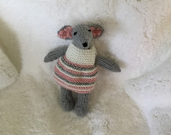 Toy stuffed mouse