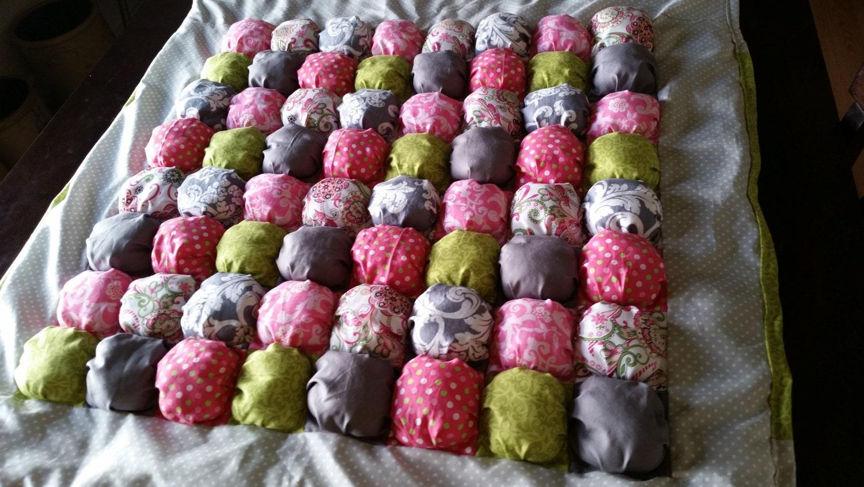 Puff Quilt Bubble Blanket Biscuit Quilt Pillow Quilt