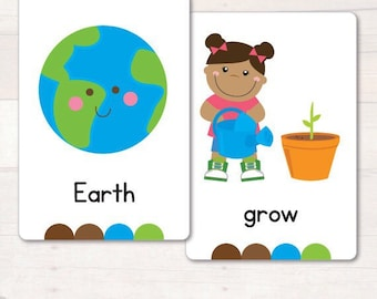 Earth Day Vocabulary/Flash Cards