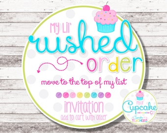 Same Day Rush for Any Invitation