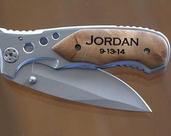 Groomsmen Gift - Wedding Knife, Gifts for Groomsmen, Wedding Favors, Best Man Gift, Usher Gift, Gifts for Ushers, Pocket Knife, Knife