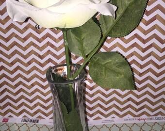 Decorative Swirled Glass Vase
